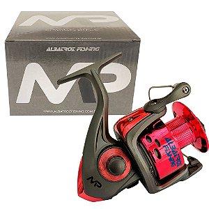Molinete Albatroz MP60 6000 3 Rolamentos Pesca Pesada Vermelho