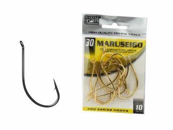 ANZOL MARINE SPORTS MARUSEIGO GOLD Nº 8 CARTELA C/50