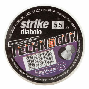 CHUMBINHO TECHNOGUN STRIKE DIABOLO 5,5 C/125 PCS