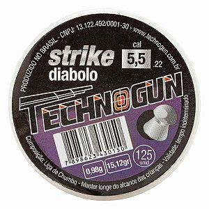 CHUMBINHO TECHNOGUN STRIKE DIABOLO 4,5 C/250 PCS