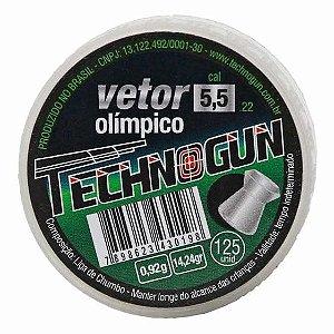 CHUMBINHO TECHNOGUN VETOR 5,5 C/125 PCS