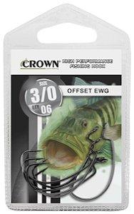 ANZOL CARTELA CROWN OFFSET EWG Nº 1/0 C/06