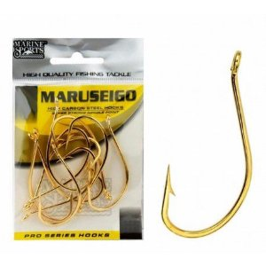 ANZOL CARTELA MARINE SPORTS MARUSEIGO GOLD Nº 12 C/50