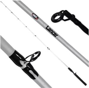 VARA INTEIRA CARRETILHA SAINT PLUS LANCER SILVER 561-BC 7-17LBS