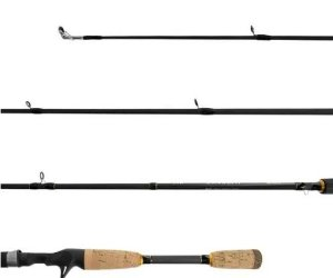 "VARA INTEIRA CARRETILHA LUMIS INTENSE CAST 6'6"" 1,98M 4-10LB"