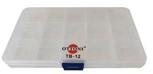 ESTOJO ORGANIZADOR PESCA OTTONI TB-12