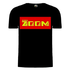 Camisa Banda Zoom preta