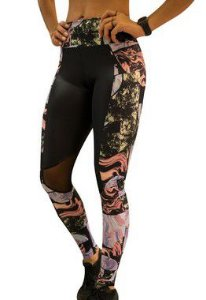 Legging Luxer Gel com Recorte Qtal Lingerie - REF: 80806