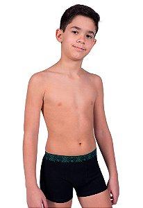 Cueca Boxer Infantil - Algodão - Qtal Lingerie
