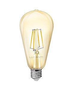 LAMPADA FILAMENTO LED PERA E27 2400K