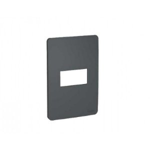 PLACA ORION 4X2 STELLAR BLACK = 1 MODULO