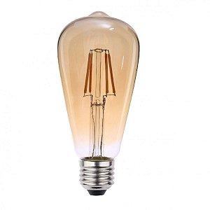 LAMPADA LED FILAMENTO PERA E27 3000K