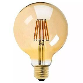 LAMPADA LED FILAMENTO GLOBO E27 3000K