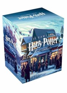 Coleção Harry Potter - 7 volumes (Português) Capa Comum
