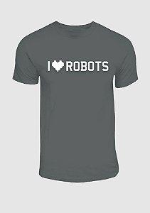 Camisa I Robots Cinza Mescla