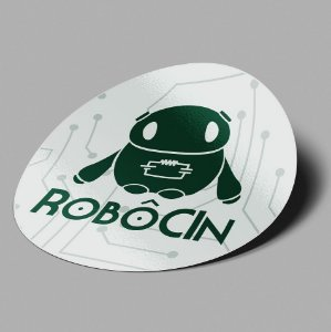 Adesivo RobôCIn