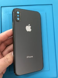 Carcaça Iphone Xs Chassi Preta original apple impecavel