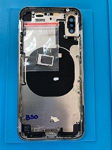 Carcaça Iphone X Branca Chassi