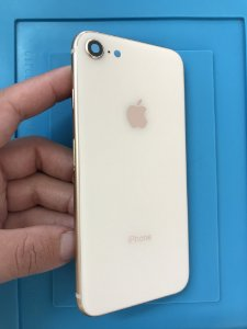 Carcaça Chassi Iphone 8 Rose Gold Original Apple Com detalhes