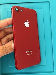 Carcaça Chassi Iphone 8 Red Original Apple!!