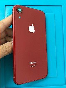 Carcaça Iphone XR RED Chassi Original !!