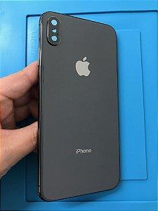 Carcaça Iphone XS Max Preto Chassi