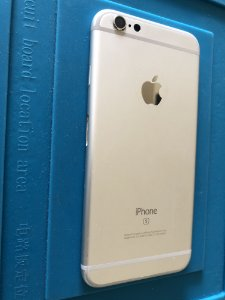 Carcaça Chassi Iphone 6s Prata Original Apple Com Pequenos Detalhes