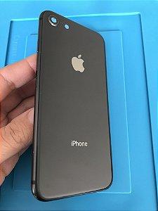 Carcaça Chassi Iphone 8 Preta Original Apple detalhes