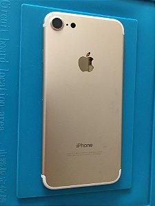 Carcaça Chassi Iphone 7 Dourada Original Apple