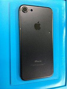Carcaça Chassi Iphone 7 Preto Fosco Original com detalhe