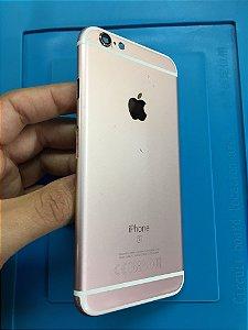Carcaça Chassi Iphone 6s Rose Original Apple Com Detalhes