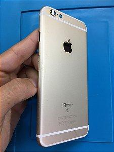 Carcaça Chassi Iphone 6s Dourada Original Apple Com Detalhes