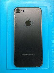 Carcaça Chassi Iphone 7  Preto Fosco Com marcas !!