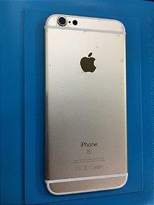 Carcaça Chassi Iphone 6s Dourada Original Apple Com Detalhe