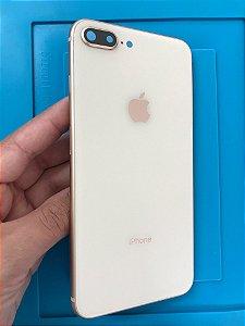 Carcaça Chassi Iphone 8 Plus Rose Gold Original Apple Detalhes