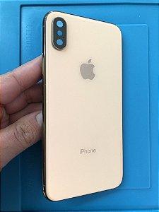 Carcaça Iphone XS Rose Gold Impecáve Original Apple!!!