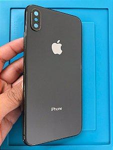 Carcaça Iphone XS Max Preto Chassi Impecável !!!