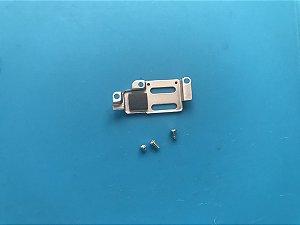 Blindagem camera frontal iphone 6s Plus + parafusos.