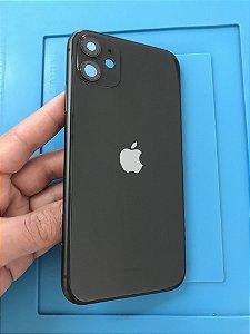 Carcaça Chassi Iphone 11 Preto Original Apple Impecavel
