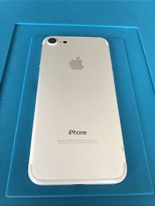 Carcaça Chassi Iphone 7 Prata Original Apple detalhes