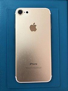 Carcaça Chassi Iphone 7 Dourado Original Apple.