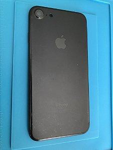 Carcaça Chassi Iphone 7  Preta Fosco Original Apple