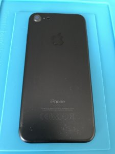 Carcaça Chassi Iphone 7  Preta Fosco marcas capinha