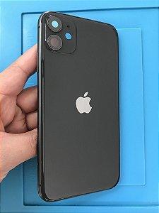 Carcaça Chassi Iphone 11 Preto Original Apple detalhes