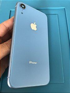 Carcaça Iphone XR  Azul Original Apple Chassi