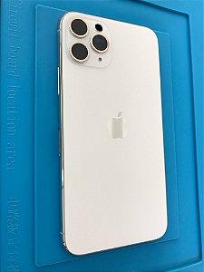 Carcaça Chassi Iphone 11 Pro Branca Original Apple