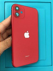 Carcaça Chassi Iphone 11 Red  Original Apple