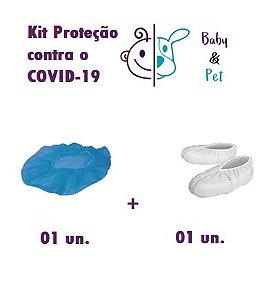 Kit Toca Cirúrgica + Sapatilha Cirúrgica