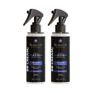 Kit 2 Máscara em Spray BB Cream 10 em 1 em Tecnologia ATH 200ml - Rubelita