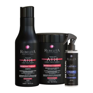 Kit Resistent Therapy Shampoo 1L + Máscara 1KG + BB Cream